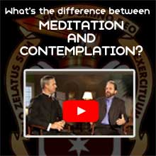 Father John Bartunek and Dan Burke discuss the difference between meditation and contemplation.