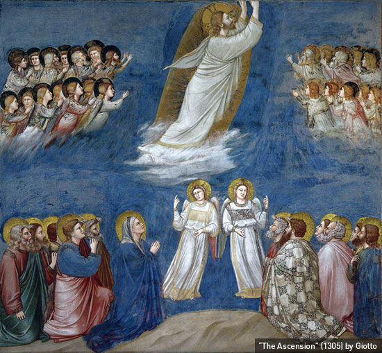 """The Ascension"" (1305) by Giotto"