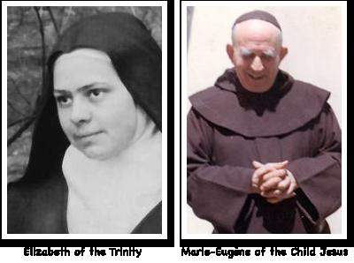 Elizabeth of the Trinity and Marie-Eugène of the Child Jesus