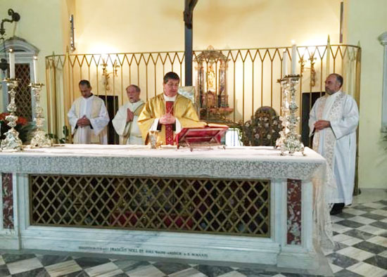 The Opening of the 450th Anniversary of the Birth of St. Mary Magdalen de'Pazzi