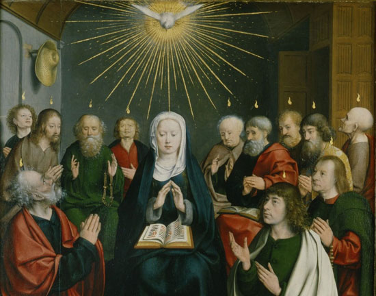 Pentecost by Jan Joest Van Kalkar