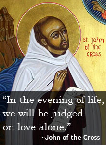 Quote on Love: John of the Cross