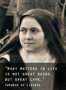 Quote on : Therese of Lisieux