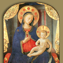 Madonna with Child - Fra Angelico