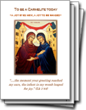 To Be A Carmelite Today booklet
