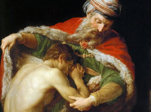 The Return of the Prodigal Son by Pompeo Batone