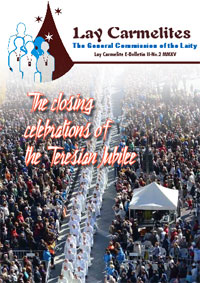 Lay Carmelite e-Bulletin, Issue 4