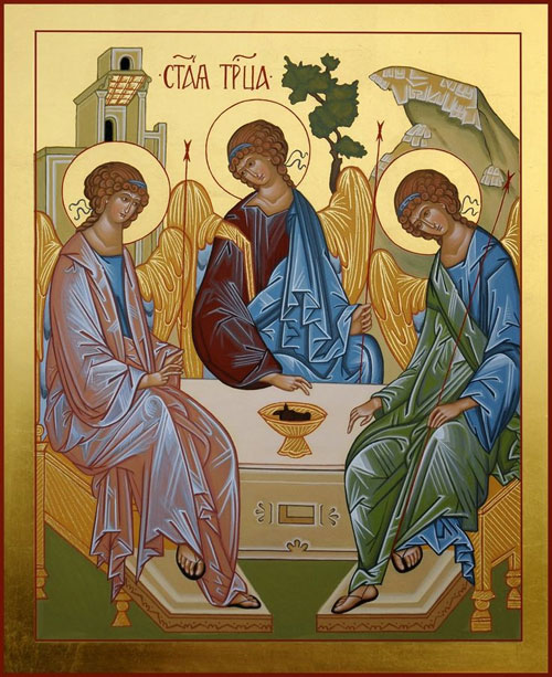 The Russian Icon that reveals the mystery of the Trinity