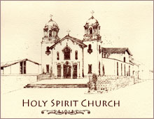 Drawing of Holy Spirit Church