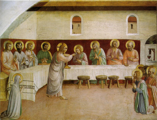 Communion of the Apostles by Fra Angelico